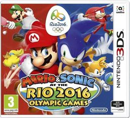 Mario & Sonic at the Rio 2016 Olympic Games (3DS) + Lehden tilaus