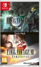 Final Fantasy VII & Final Fantasy VIII Remastered Twin-Pack (NSW)