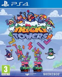 Tricky Towers (PS4) + Lehden tilaus