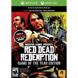 Red Dead Redemption: Game of the Year Edition (XB1/X360) + Lehden tilaus