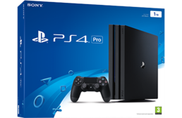 PS4 Pro 1 TB A Chassis Black