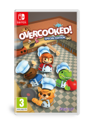 Overcooked Special Edition (NSW) + Lehden tilaus